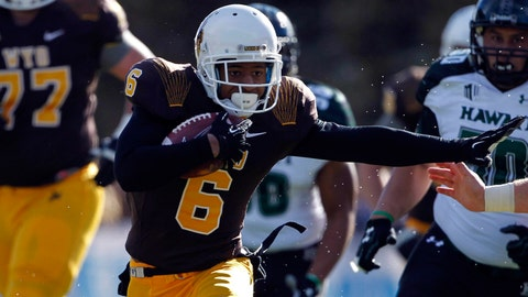 Wyoming WR Robert Herron; Buccaneers (6th Round, 185th overall)