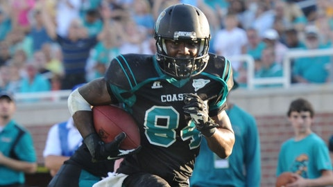 Matt Hazel, WR, Coastal Carolina, sixth round (No. 190 overall)
