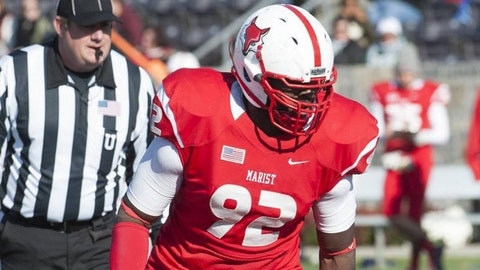 Terrence Fede, DE, Marist, seventh round (No. 234 overall)
