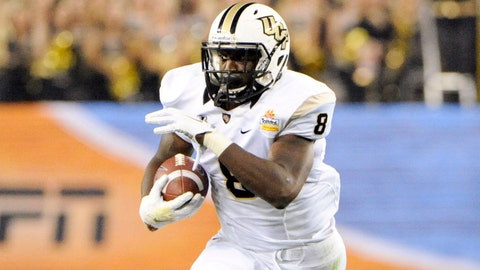 Storm Johnson, RB, UCF, seventh round (No. 222 overall)