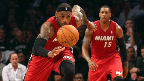 Heat vs. Nets Game 4