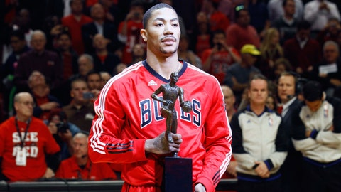 2008 No. 1 Pick: Derrick Rose (Chicago Bulls)