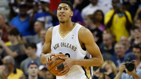 2012 No. 1 Pick: Anthony Davis (New Orleans Hornets)