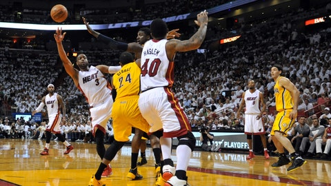 Heat vs. Pacers Game 3