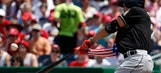 VIDEO: Giancarlo Stanton crushes 2-run home run to center