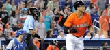 Jeff Baker's ninth-inning RBI double lifts Marlins