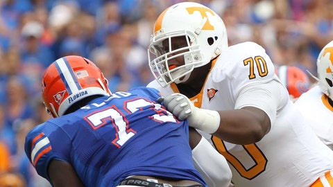 Ja'Wuan James, OL, Tennessee, first round (No. 19 overall)