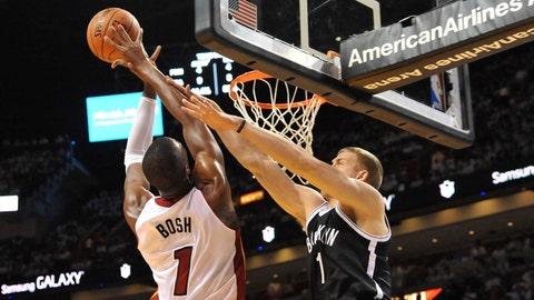 Heat vs. Nets Game 2