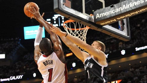 Heat vs. Nets Game 2
