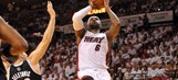 Heat beat Nets to take 2-0 series lead
