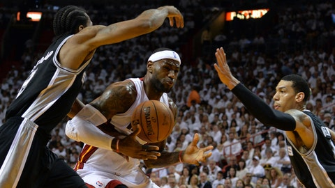 Heat vs. Spurs Game 3