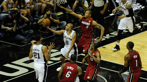Heat vs. Spurs Game 1