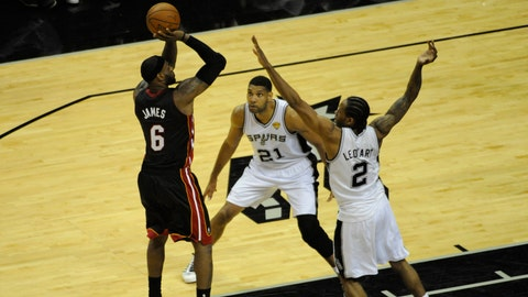 Heat vs. Spurs Game 2