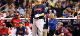 Giancarlo Stanton wows early but is knocked out in semis of Home Run Derby