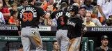 Brad Hand, Jeff Mathis lead Marlins past Astros