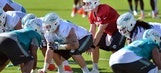 Dolphins see plenty to build on at opening of training camp