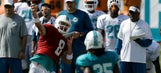 Dolphins Camp Day 3: Turning it up a notch in full pads