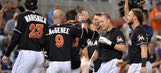 Marlins show early-season spirit in comeback win over Nationals