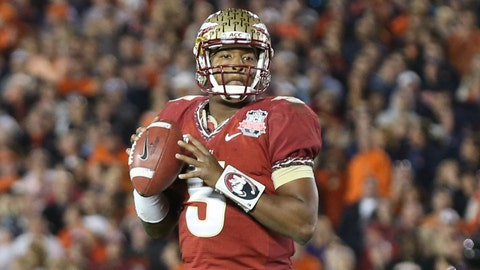 Davey O'Brien (best QB): Jameis Winston, Florida State