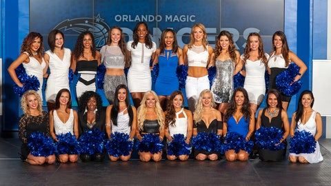 2014-15 Orlando Magic dancers