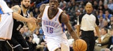 Thunder's Adams, Jackson working on other aspects of their game