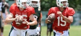 Hurricanes' quarterback battle down to Jake Heaps, Brad Kaaya