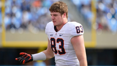 3. TE Jake McGee, redshirt Sr.
