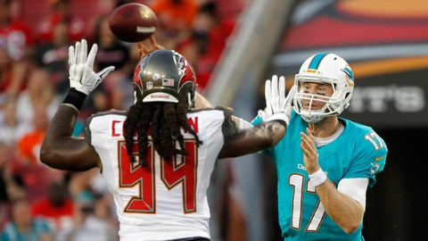 September 10: Tampa Bay Buccaneers at Miami Dolphins, 1 p.m. ET