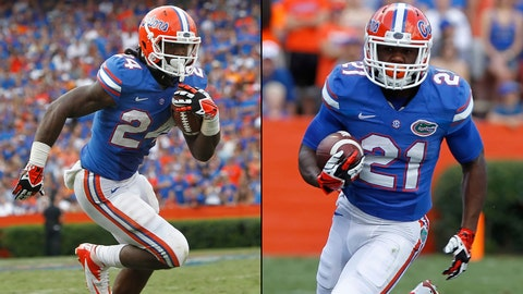 7. RB Matt Jones, Jr./RB Kelvin Taylor, So.