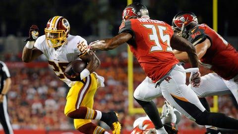 Buccaneers vs. Redskins