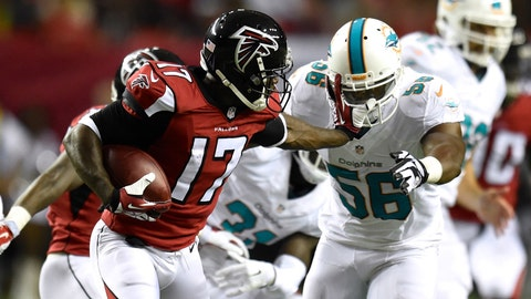Dolphins vs. Falcons