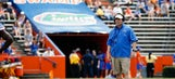 Gators coach Will Muschamp makes special delivery to Gainesville couple
