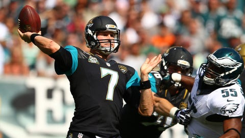 Jaguars QB Chad Henne, $4 million