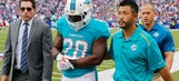 Moreno, Pouncey among six Dolphins who could return to lineup Sunday