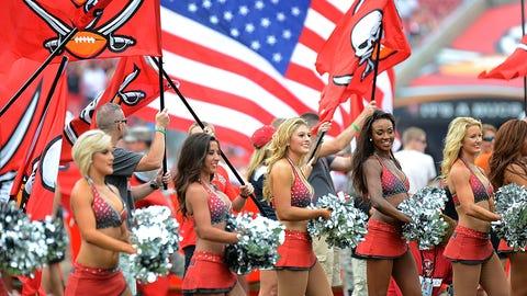 Buccaneers cheerleaders