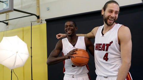 Miami Heat media day