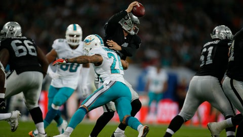Dolphins vs. Raiders