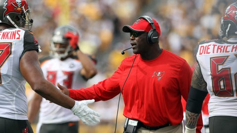 14. Buccaneers hire Lovie Smith as coach