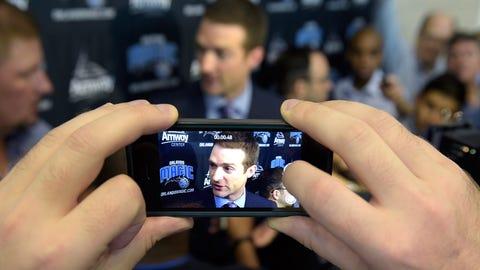 Orlando Magic media day