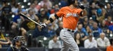 Marlins knock three homers in win over Brewers