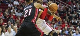 Heat handed tough blowout loss on road against Rockets