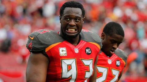 Tampa Bay Buccaneers: DT Gerald McCoy - $15.9 million
