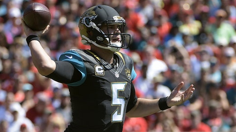 Week 14: Sunday, Dec. 11 at Jacksonville Jaguars