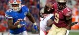 Florida stays at 11, FSU still 17th in AP poll