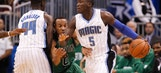 Knee sprain keeps Victor Oladipo out of Magic-Hawks game