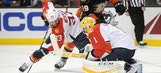 Panthers surrender lead in waning seconds, fall to Ducks in shootout