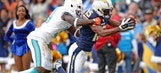Dolphins dismantled by Danny Woodhead, Chargers