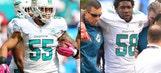 Dolphins linebackers Koa Misi, Chris McCain done for season
