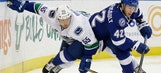 Lightning hit hiccup in homestand with loss to Canucks