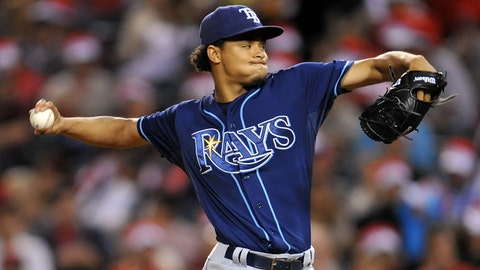 17. Tampa Bay Rays pitcher Chris Archer accomplishes rare feat